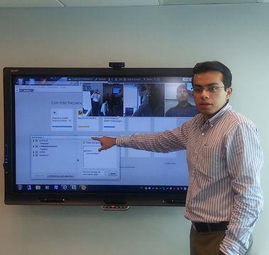 Usando Smart Bridgit con pantalla Interactiva Smart