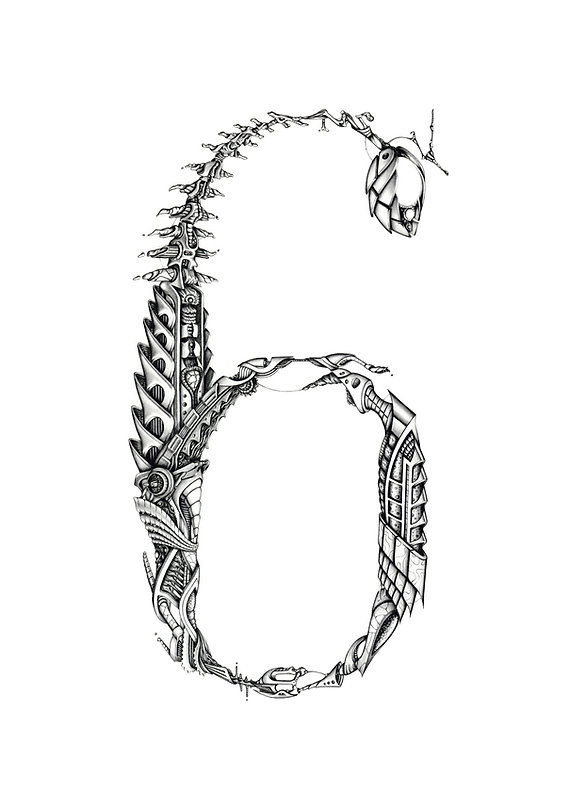 69 meca, illustration pour l'exposition 69 de PBK9. Format A3, commandes sur http://petch.bigcartel.com/