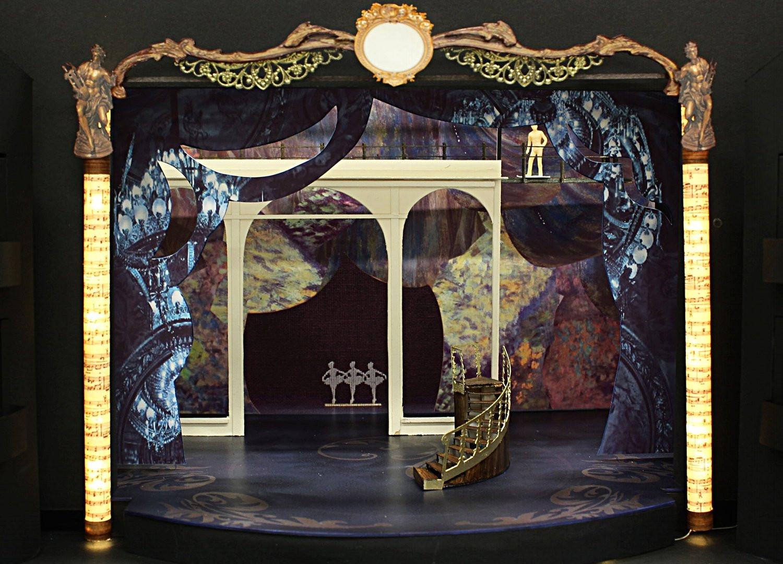 Opera House Scene and Rehearsal Scene