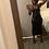 Thumbnail: 3 Strap Midi Black Dress