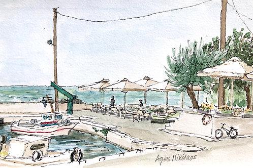 Agios Nikolaos Harbor