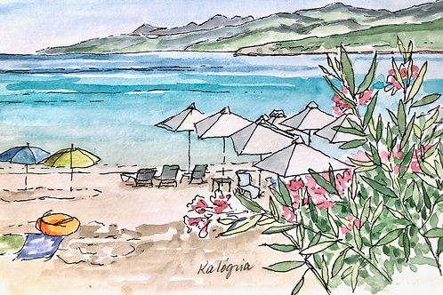 Kalogria Beach Umbrellas