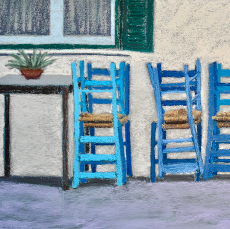 Stacked Chairs, Agios Nikolaos