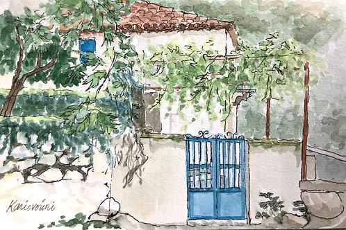 Kariovouni, Blue Gate
