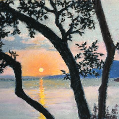 Delfinia Sunset