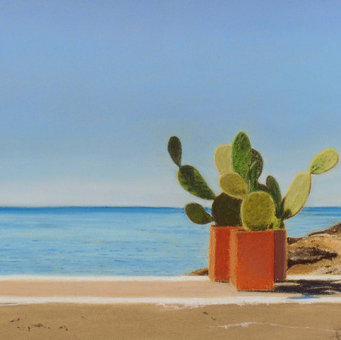 Sea and Cacti