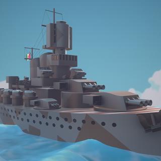 Chibi Battleship Roma