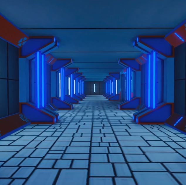 oVRshot Storage Facility Hallway