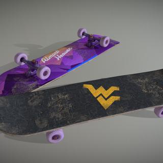 Almost Heaven Skateboard