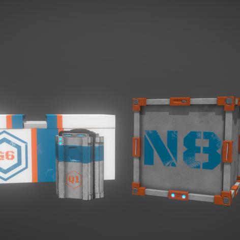 oVRshot prop crates