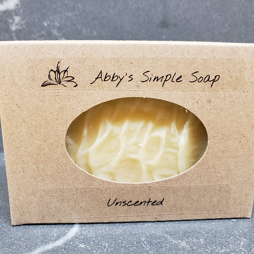 Soothing Herbal Abbys Simple Soap