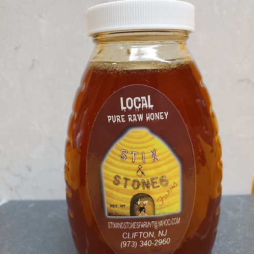 Stix & Stones Farms 1lb Honey Jar