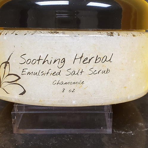 Soothing Herbal Emulsified Salt Foot Scrub