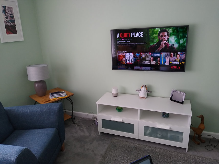 TV wall mounting in Somerset & Dorset