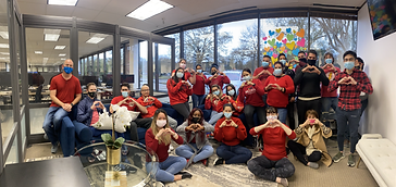 National Wear Red Day Group Pic.heic