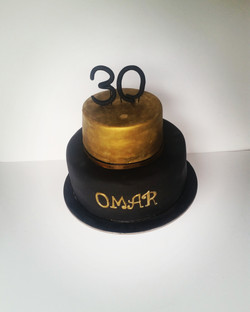 30th Black and Gold