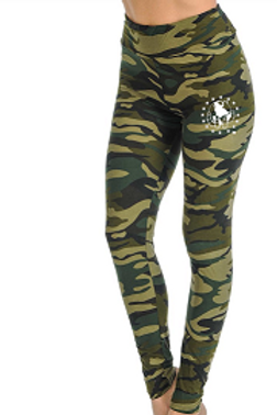 Green CAMO Super Soft with Ultimate Stretch Leggings