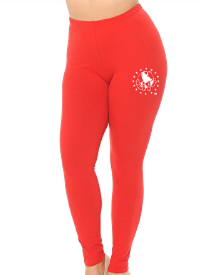 RED Super Soft with Ultimate Stretch Leggings