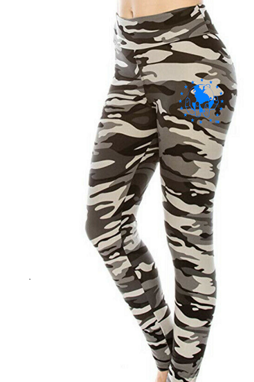 Grey CAMO Super Soft with Ultimate Stretch Leggings