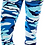 Thumbnail: Blue CAMO Super Soft with Ultimate Stretch Leggings
