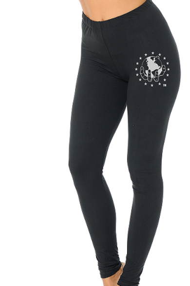BLACK Super Soft with Ultimate Stretch Leggings