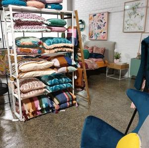 cushion fest at Zudis lifestyle