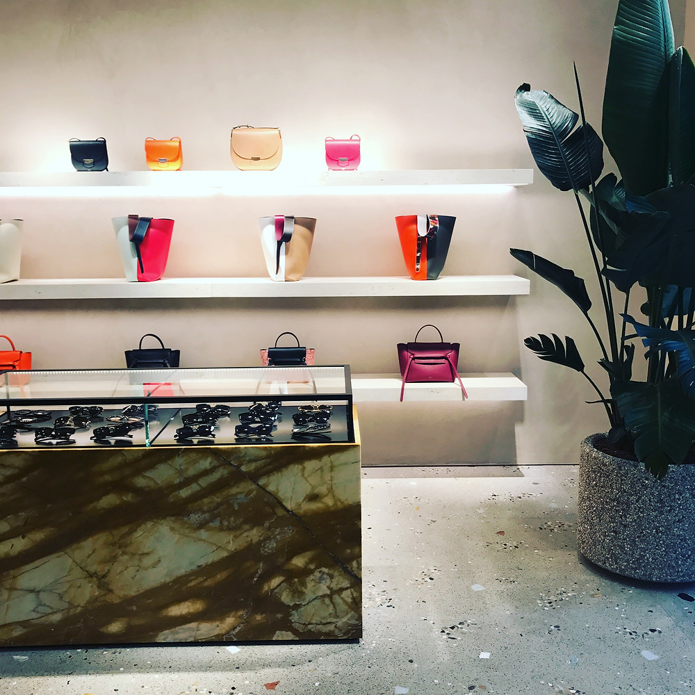 the importance of visual merchandising in store celine melbourne