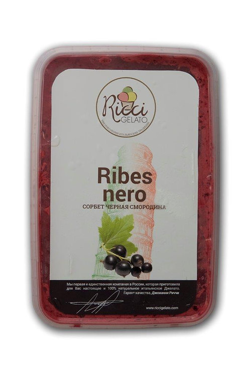 Ribes Nero (сорбет из черной смородины)