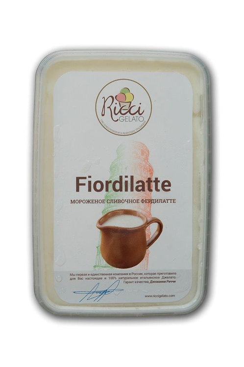 Fiordilatte (сливочное фердилатте, 750 грамм)