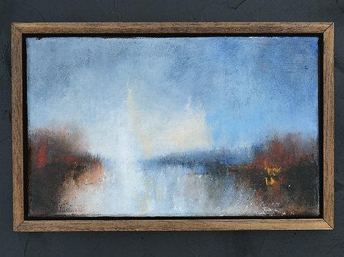Framed original acrylic painting #2