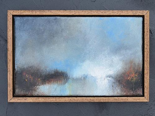 Framed original acrylic painting #4