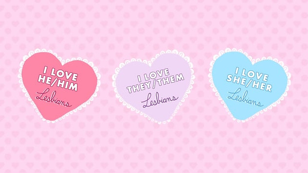 Lesbain Valentines Card
