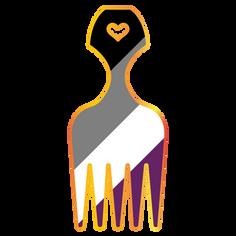 Pride Hair Picks 2019 - Asexual Pride
