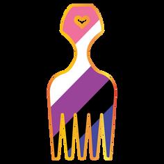 Pride Hair Picks 2019 - Genderfluid Pride