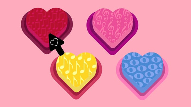 Musical Candy Hearts