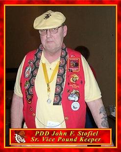 John F. Stofiel, Sr. Vice Pound Keeper.j