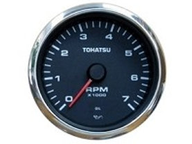TACHOMETER - 4-STROKE MODELS - BLACK FACE