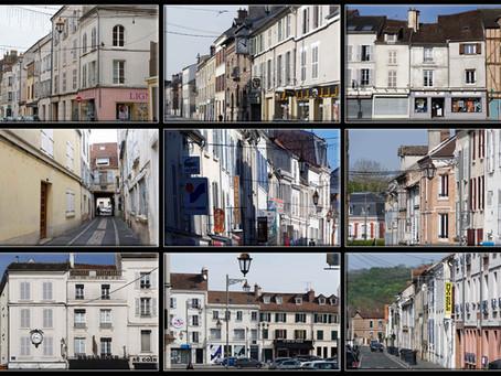 Architecture des maisons de Coulommiers