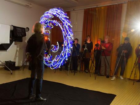 Lightpainting en studio
