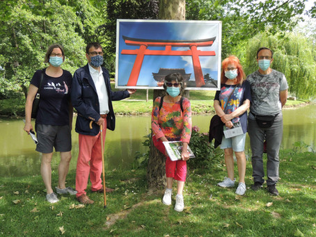 Exposition photographique sur les jardins au Japon