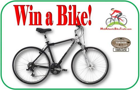 Bike Contest Winner Announced