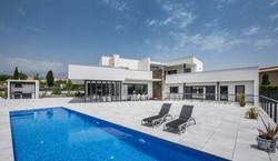 Fachada interior. Casa Alicante.