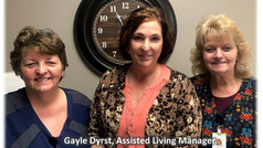 Welcome New Town Planner sponsor: The Egle House Memory Care Assisted Living Facility.
