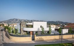 Fachada Principal Casa Alicante