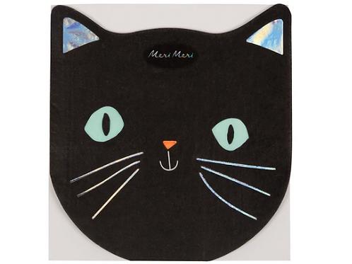 Servilletas de gato halloween- MeriMeri