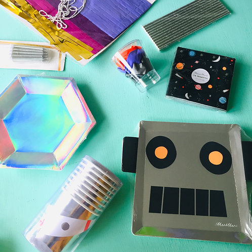 Pack Robot y galaxia
