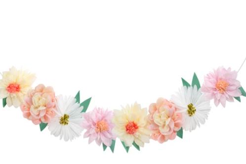 Guirnalda de flores Meri Meri