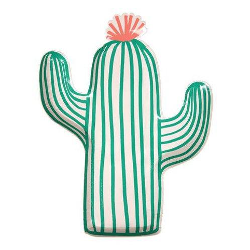 Plato decoración Cactus Meri Meri