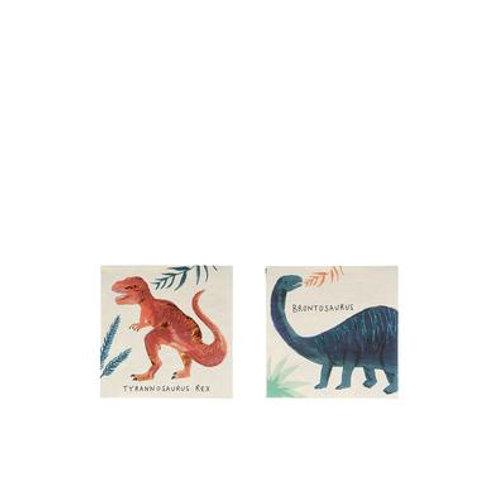 Servilletas de dinosaurios pequeñas- Meri Meri