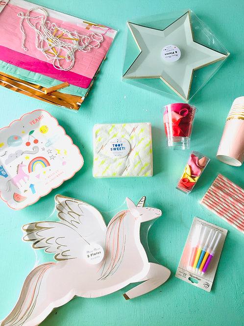 Pack unicornios y estrellas